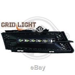 1216989, Paire de feux diurnes noir pour BMW SERIE 3 de type E90 / E91 de 2005