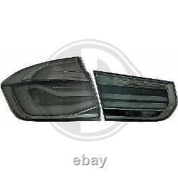 1217991, Paire de feux arriere noir pour BMW SERIE 3 Berline de type F30 de 20