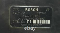1641580 Pompe Injection BMW SERIE 5 BERLINA 525d 2004 Bosch 2 Broches 7788678