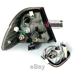 2 Feux Arrieres Look Phase 2 A Leds Bmw Serie 3 Type E46 Berline 1998-2001 1366
