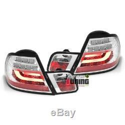 2 Feux Chrome Led Lightbar Celis Bmw Serie 3 Type E46 Coupe 2003-2007 (04331)