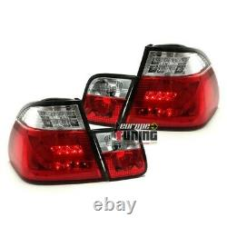 2 Feux Rouges Clairs Led Lightbar Celis Bmw Serie 3 Type E46 Berline 1998-2001