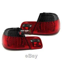 2 Feux Rouges Noirs Look M3 A Leds Bmw Serie 3 Type E46 Cabriolet 1999-2007 041