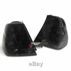 2 Feux Tuning Fumes Noirs Bmw Serie 3 Type E46 Compact (04735)
