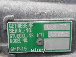 24007590160 gearbox BMW Serie 1 Berline(E81 E87) 118D Année 2004 1168313