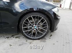 4 jantes Motorsport BMW type M 405-19'' 7,5JX19ET45 & 8JX19ET52 série 1 F20