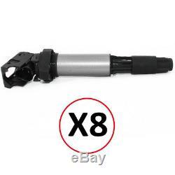 8x bobine allumage bmw type crayon serie 5 e60 e61 e63 e64 e65 e66 e67 e53 e70
