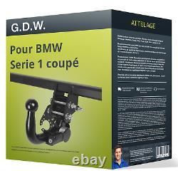 Attelage pour BMW Serie 1 coupé type E82 démontable sans outil G. D. W. TOP