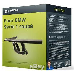 Attelage pour BMW Serie 1 coupé type E82 démontable sans outil Westfalia ABE TOP