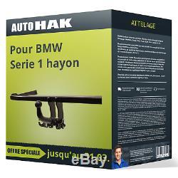 Attelage pour BMW Serie 1 hayon type E81/E87 démontable sans outil Auto Hak TOP