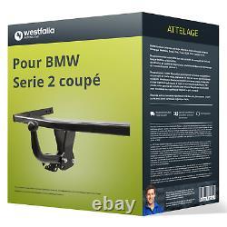 Attelage pour BMW Serie 2 coupé type F22 démontable avec outil Westfalia TOP
