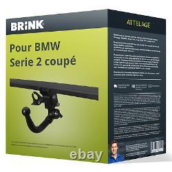 Attelage pour BMW Serie 2 coupé type F22 démontable sans outil Brink TOP