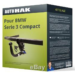 Attelage pour BMW Serie 3 Compact type E46 démontable sans outil Auto Hak AAA