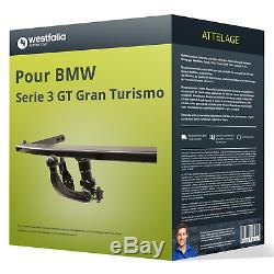 Attelage pour BMW Serie 3 GT Gran Turismo type F34 Amovible Westfalia NEUF TOP