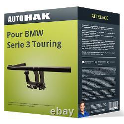 Attelage pour BMW Serie 3 Touring type E91 démontable sans outil Auto Hak TOP
