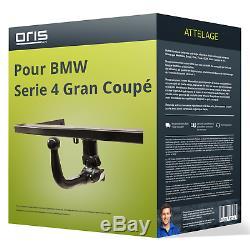 Attelage pour BMW Serie 4 Gran Coupé type F36 démontable sans outil Oris TOP