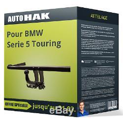 Attelage pour BMW Serie 5 Touring type E34 démontable sans outil Auto Hak TOP