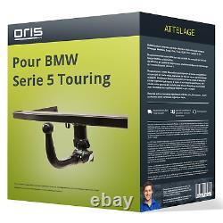 Attelage pour BMW Serie 5 Touring type F11 démontable sans outil Oris NEUF