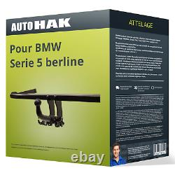 Attelage pour BMW Serie 5 berline type F10 démontable sans outil Auto Hak ABE