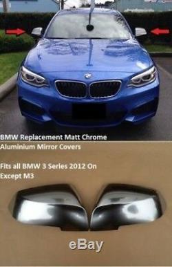 BMW Série 3 F30 F31 F34 F35 Aluminium Poli Coque Rétroviseur Remplacement Type