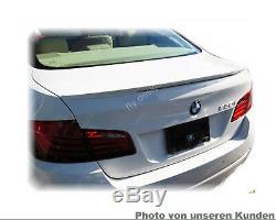 BMW Série 5 F10 SPOILER AILERON ABS queue lèvre type P Aile Titan Argent 354