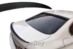 BMW Série 5 F10 SPOILER AILERON Véritable Charbon queue lèvre type P aile