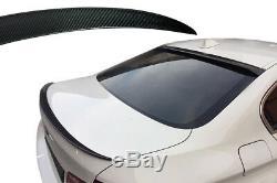 BMW Série 5 F10 dynamique SPOILER AILERON DE VRAIS CHARBON ET PERFORMANCE TYPE