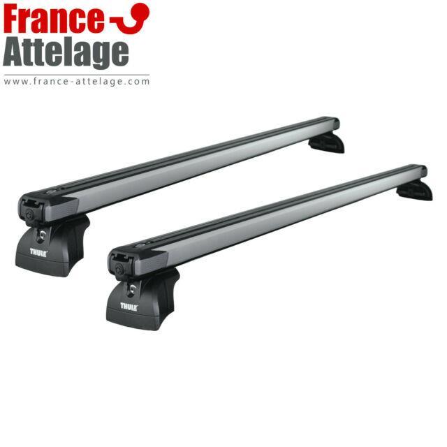 Barres De Toit Thule Slidebar Pour Bmw Serie 2 Gran Tourer Type F46 Article Neuf