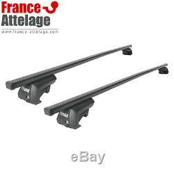 Barres de toit Thule SquareBar pour Serie 3 Touring type E91 NEUF notice incluse