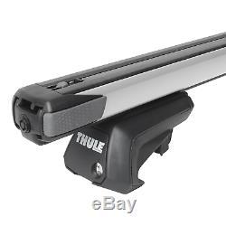 Barres de toit alu Thule SlideBar pour BMW Serie 3 Touring type E91 article neuf