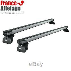 Barres de toit aluminium Thule SlideBar pour BMW Serie 3 berline type E90 NOTICE