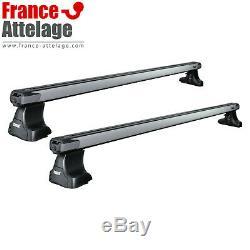 Barres de toit aluminium Thule SlideBar pour BMW Serie 5 berline type E39 NOTICE