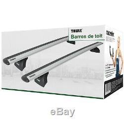 Barres de toit pour BMW Serie 5 berline type F10 Thule WingBar EVO article neuf