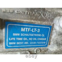 Boîte à vitesse mecanique b. M. W. SERIE 1 I 23008607322 168237