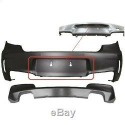 Bouclier arrière type M en ABS pour BMW série 1 E81-E87-E87 LCI
