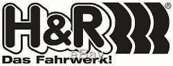 H+R Ressorts BMW Série 6 Gt Type G32 2 Roues Motrices + 4WD Jusqu'à 1200kg