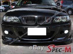 H Type Fibre de Carbone Pare-Choc avant pour 01-06 BMW E46 3-Series M3 Only 2dr