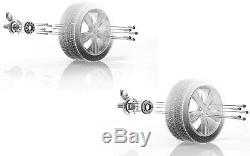 H&r Élargissement des Voies 24/80mm Argent pour BMW Série X5 Type X70