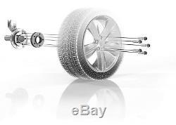 H&r Élargissement des Voies 40/40mm Argent pour BMW Série 7 Type 701/7l X5