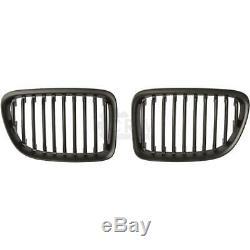 Kit Pare-Chocs avant Apprêté+Brouillard+Rognons Grille pour BMW Série X1 E84