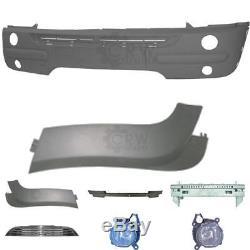 Kit Pare-Chocs avant BMW Série Mini Type R50 R52 R53 Année Fab. 01-04 Support +