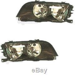 Kit Phares Halogènes BMW Série Type 3/E46 5.98-8.01 H7/H7 avec Moteur