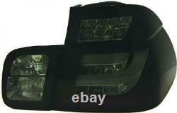 Kit de feux arrières noir gris fumée BMW Série 3 (E46) de 98 à 01