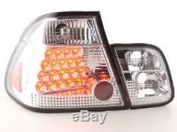 LED Feux arrieres pour BMW Serie 3 Limousine (type E46) annee 98-01, chrome