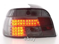 LED Feux arrieres pour BMW Serie 5 Limo (type E39) annee 95-00, noir - annee