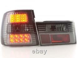 LED Feux arrieres pour BMW Serie 5 (type E34) annee 88-94, noir - annee 1988
