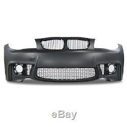 Pare choc avant en ABS pour BMW serie 1 type E81/E82/E87/E88 de 2004 a 2011