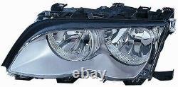 Phare Avant Droite Pour BMW Serie 3 e46 2001 Au 2004 Chrome