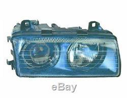 Phare Gauche Pour Bmw E36 Série 3 Coupé 94-99 Type Hella