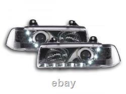 Phares Daylight set pour BMW Serie 3 (type E36) Limo/Touring annee 92-98, chrome